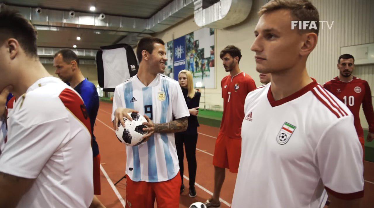 رونمایی از پیراهن تیم ملی در جام جهانی +تصاویر