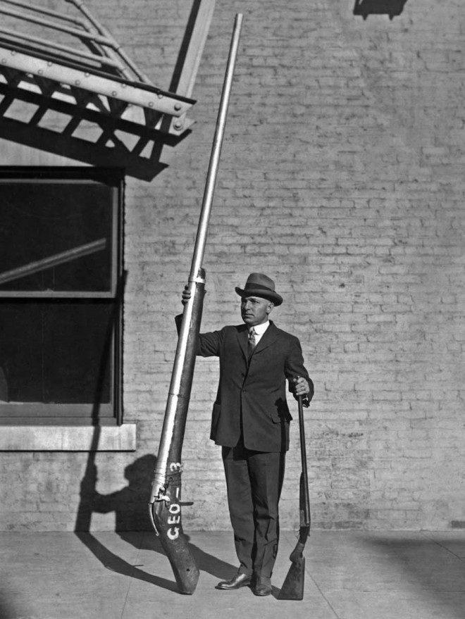 عجیب ترین تفنگ شکاری ساخته شده در قرن هیجدهم +تصاویر