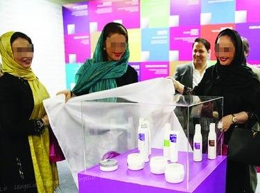 سلیبریتی ها در بازار بزرگ لوازم آرایش