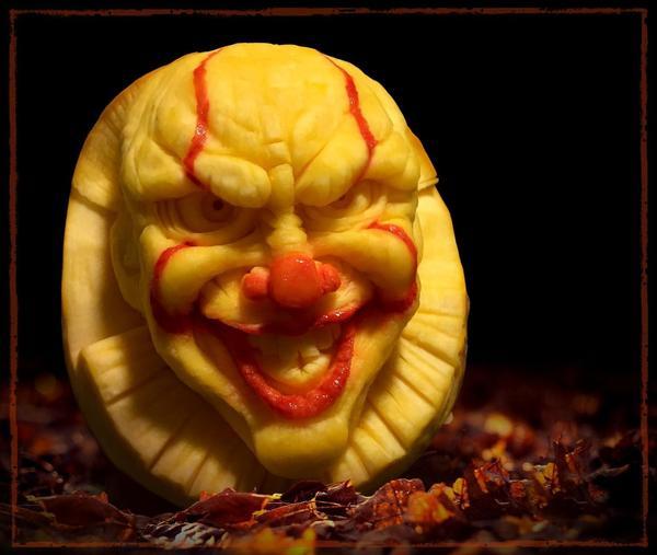 تصاویر/ کدو تنبلهای ترسناک هالووین را ببینید