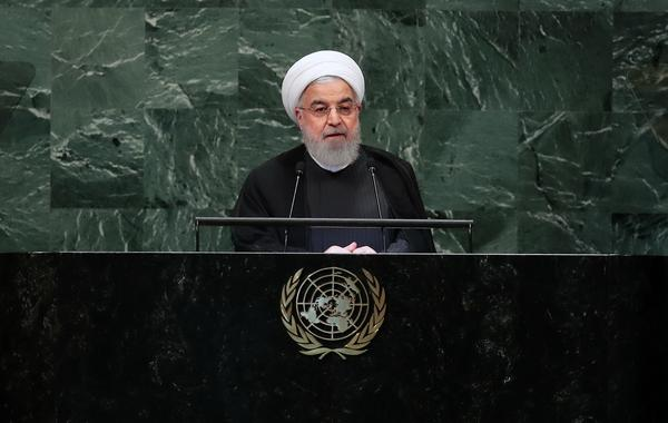 تصاویر/ سخنرانی رئیسجمهور در سازمان ملل